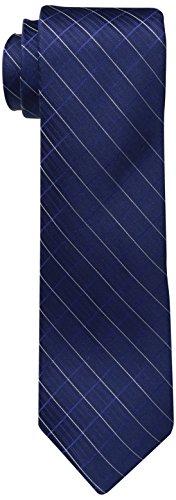 Calvin Klein Men's Navy Ties, VI, Regular