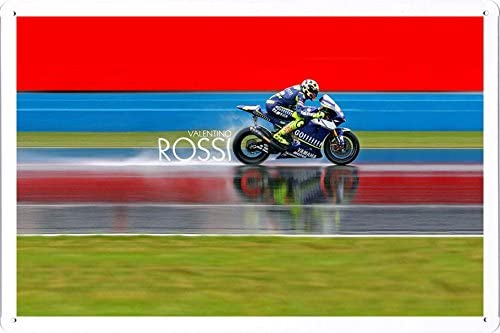 Large Superbike Motorcycle Race Fast Engine Track Wall Poster Art Picture Print