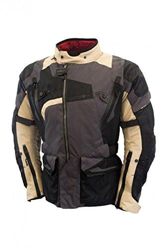 Oxford Men's Montreal Textile Jacket(Desert, (Mens Beige Italian Suede)