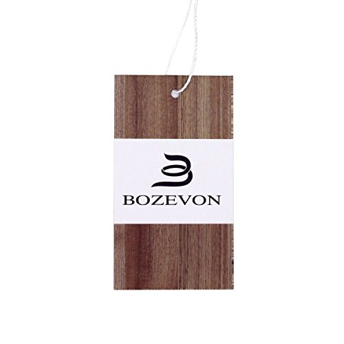 moda allentata BOZEVON Cotone Donna al Premaman seno Allattamento Vestito Grigio stampa EEq7Zfcpx