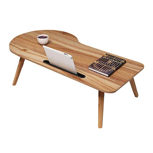 LEILEI LaLaptop Table Escritorio para computadora portatil Escritorio para Cama Mesa de cafe Plegable portatil Simple pequena para Escritorio Dormitorio Balcon Balcon Windowsill BL
