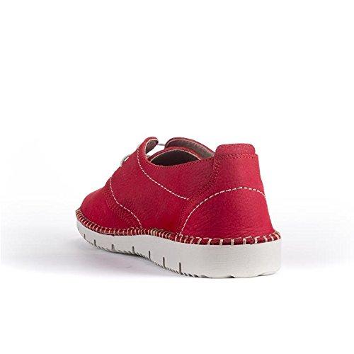 t2in Blucher 3235 R Rouge Chaussure ABUHFz