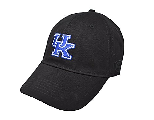 Kentucky Wildcats Fitted Hat Icon Black (Kentucky University Football)