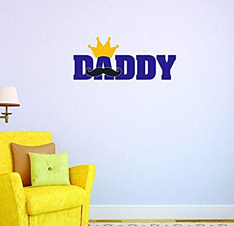 20 x 20 Multi Design with Vinyl US V JER 3816 4 Top Selling Decals daddy Wall Art Size 20 x 20 Color