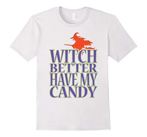The White Witch Costume Ideas (Mens Halloween Witch Shirt   Funny Costume T Shirt Gift Idea 2XL White)