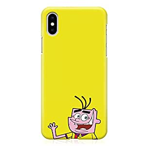 Loud Universe Ed Edd and Eddie iPhone XS Case Classic Cartoon Yellow iPhone XS Cover with 3d Wrap around Edges