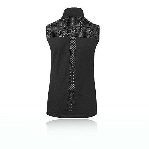 18 17 Black Lite show Negro Lite Stripe Performance Asics Vest Wq0YTfU
