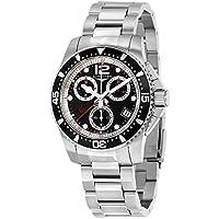 Longines HydroConquest Chronograph Black Dial Mens Watch L37434566