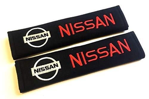 Car Accessory Warehouse Nissan Logo Emblem Seat Belt Shoulder Pad Custom Automotive Seatbelt Pads Exclusive Product