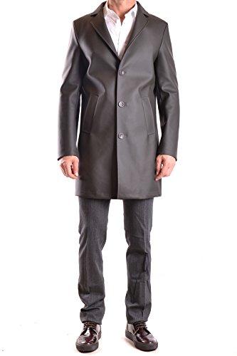 Daniele Alessandrini Homme MCBI086162O Noir Polyester Manteau