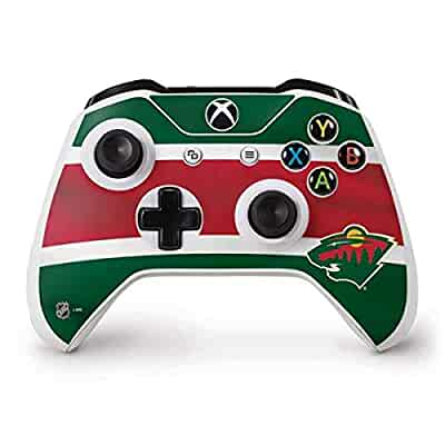 purchase cheap 86cf3 6b0dc Amazon.com: Skinit Minnesota Wild Jersey Xbox One S ...