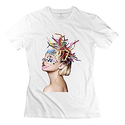YJJ Women's Sia Furler Classic T-Shirts Size L White