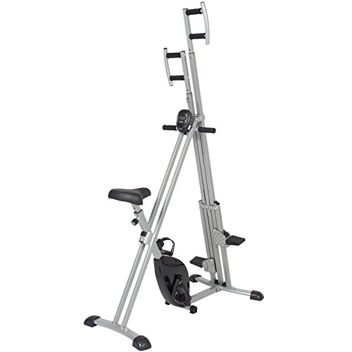 Total Body 2-IN-1 Vertical Climber Magnetic Exercise Bike Fitness Machine by BUY JOY (Image #1)'