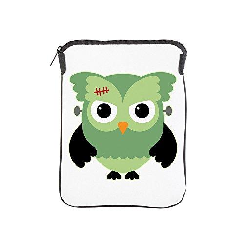 iPad 1 2 3 4 Air II Sleeve Case (2-Sided) Spooky Little Owl Frankenstein Monster]()