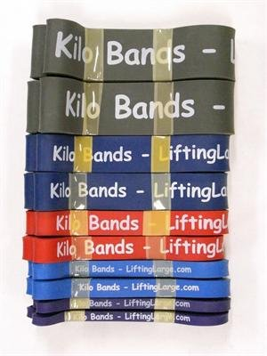 Kilo Band Full Speed Package Powerlifting Bands For Sale