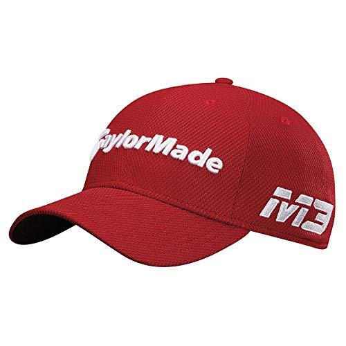 TaylorMade Golf 2018 Men's New Era Tour 39thirty Hat, Cardinal, ()