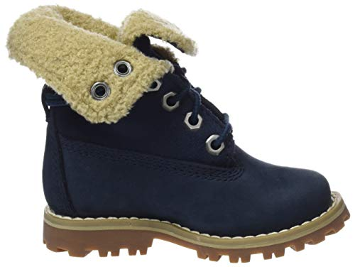 Unisex P01 Azul Nubuck Medium Timberland In Shearling Waterproof Niños Botas Authentics 6 Blue wZqg7xZHY