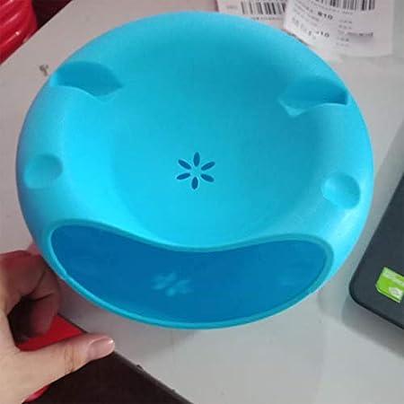 loonBonnie Plástico Doble Capa Fruta Seca Semillas de melón Contenedores de nueces Caja de Almacenamiento Portaplacas Organizador de Placa con Soporte para teléfono móvil - Azul: Amazon.es: Hogar