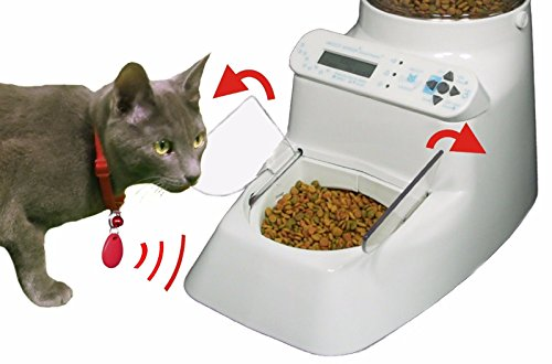 Automatic Pet Feeder - Wireless Whiskers AutoDiet Pet Feeder - Put Your Pet on a Diet by Wireless Whiskers