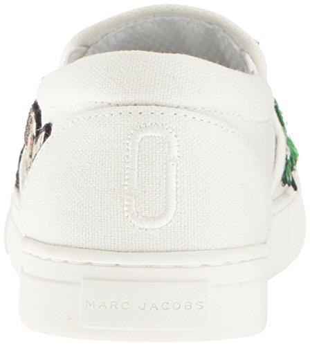 ... Marc Jacobs Kvinners Mercer Slip På Mote Sneaker Hvit Multi ...