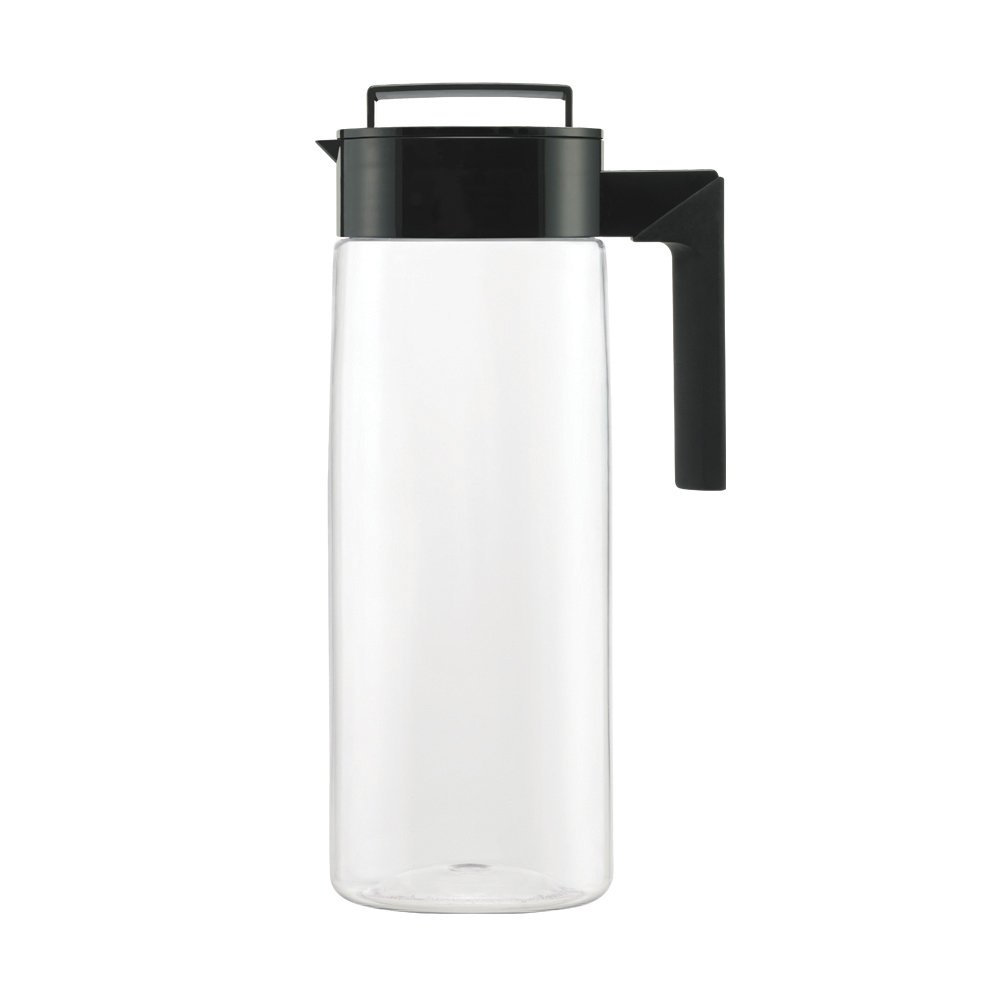 Takeya Patented and Airtight Pitcher Made in the USA, 2 Quart, Black