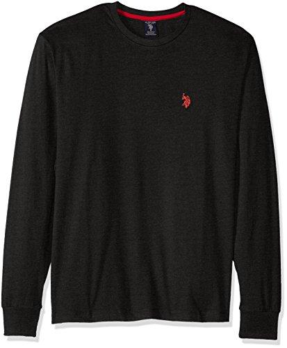 经典百搭U.S. Polo Assn男士圆领卫衣只需$13.22
