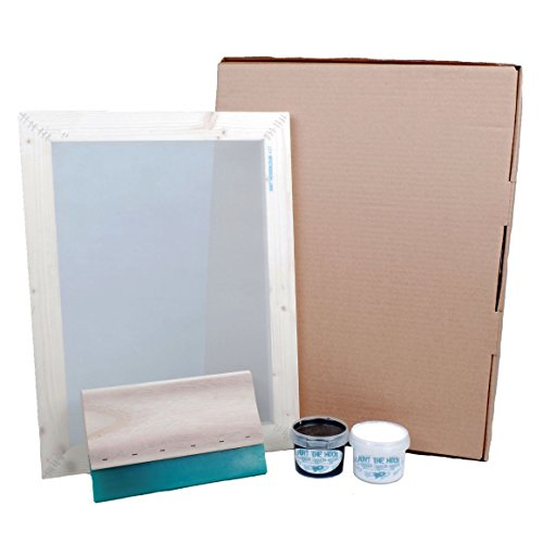 Hunt The Moon Screen Printing Kit, Wood, Large A3 -
