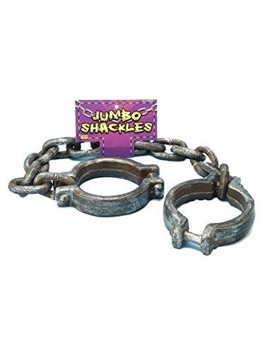 Forum Novelties Jumbo Shackles, Multicolored -