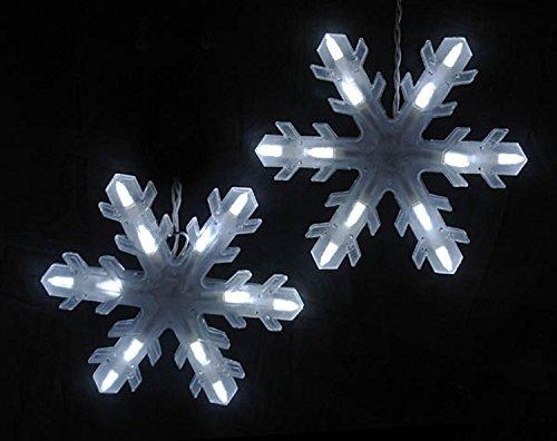 Led 3D Snowflake Christmas Light - 2