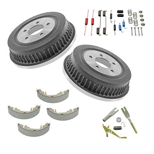 Brake Drum Shoe Hardware Kit Set Rear for Chrysler Dodge Plymouth Mini Van
