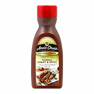 Annie Chuns Go Chu Jang Korean Sweet and Spicy Sauce 10 ounces by Annie Chuns