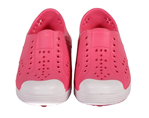 bbba4264c367 SKIDDERS Toddler Girls EVA Water Slip-on Lightweight Shoes Style SK1107
