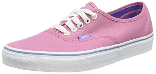 Vans Unisex Authentic (Iridescent Eyelets) Wild Rose Skate Shoe 5.5 Men US/7 Women US