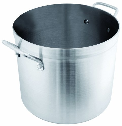 100 Quart Aluminum Stock Pot - Crestware 100-Quart Aluminum Stock Pot