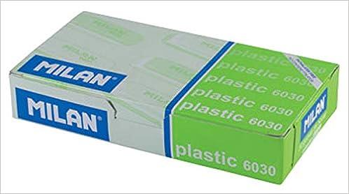 Amazon.com: CAJA 30 GOMAS MILAN 6030 PLASTICO (COLORES SURTIDOS) (8414034060305): Books