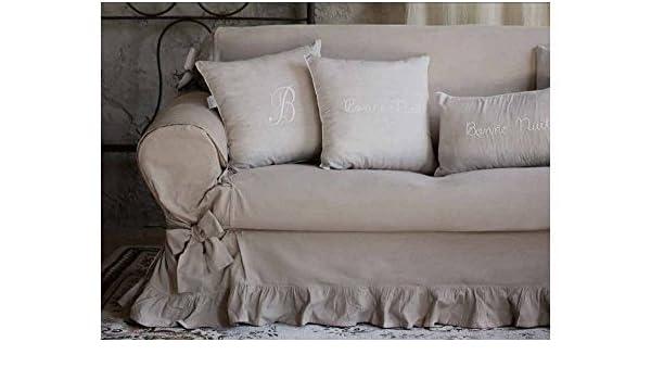 Blanc Mariclo - Funda para sofá de 2 plazas, de estilo ...