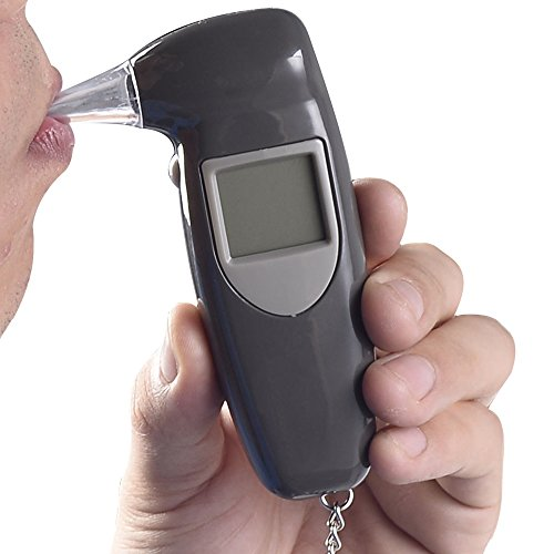Digital LCD Alcohol Breath Tester Breathalyzer Analyzer Detector Test Keychain (Iphone Breathalyzer Shark Tank compare prices)