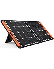 Jackery SolarSaga 100W Portable Solar Panel for Explorer 160/240/500/1000/1500 Power Station, Foldable US Solar Cell Solar Charger with USB Outputs for Phones