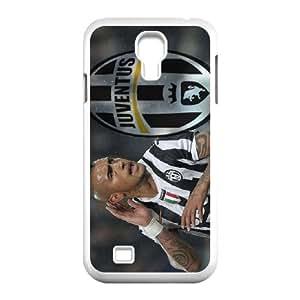 Samsung Galaxy S4 I9500 Custom Cell Phone Case FC Juventus Players Arturo Vidal Case Cover YWFF33058