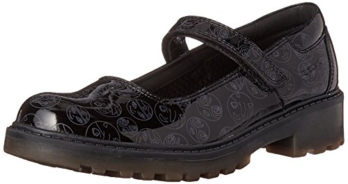 Geox Girls' J Casey 9 Mary Jane, Black, 29 EU(11 M US Little Kid) by Geox