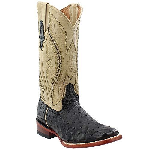 Ladies Full Quill Ostrich Boots - Ferrini Ladies Full Quill Ostrich Sq