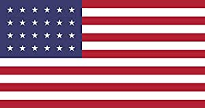 magFlags Large Flag 24 Star US   landscape flag   1.35m²   14.5sqft   85x160cm   33x60inch - 100% Made in Germany - long lasting outdoor flag