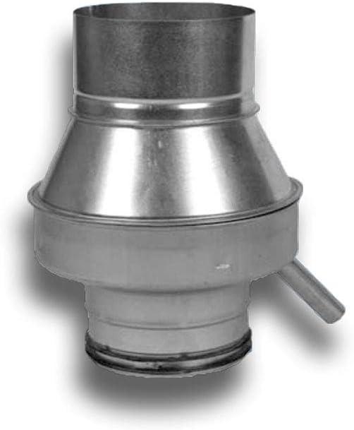Condensador de agua de metal para sistema de conducto en espiral de 250 mm de diámetro.: Amazon.es: Bricolaje y herramientas