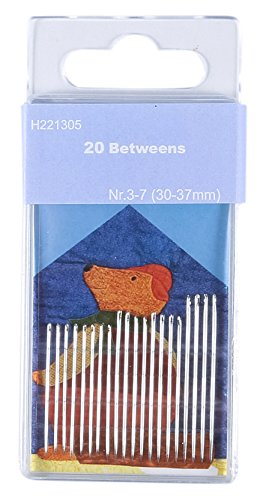 (TSL Sewing Needles, Silver, 30-37 mm, Small, 20-Piece)