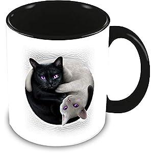 Spiral - Yin Yang Cats
