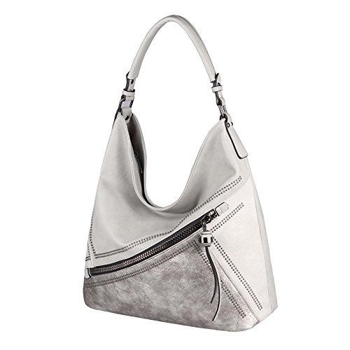 Claro 42x34x12 Bolso Beautiful BxHxT para al Couture Gris ca mujer Only Rosa cm OBC hombro Rosa qPFZSx
