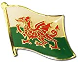 Wholesale Pack of 24 Wales Country Flag Bike Hat Cap lapel Pin BEST material PREMIUM Vivid Color and UV Fade Resistant