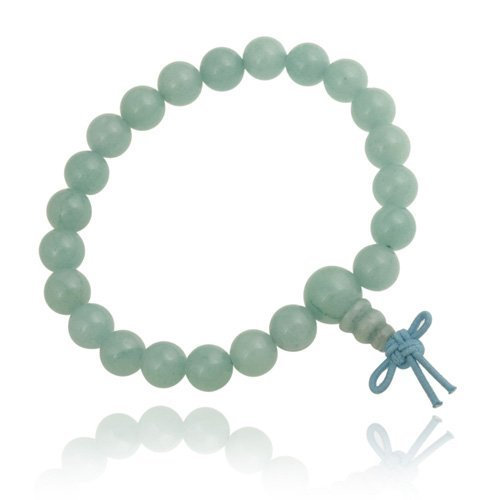 Amazonite 8mm Power Bead Stretch Bracelet
