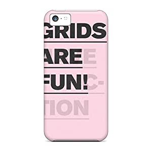 Excellent Design Grids Are Fun Case Cover For Iphone 5c