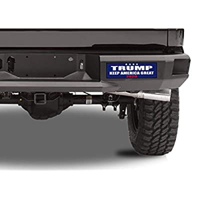 Keep America Great Elect President Donald Trump 2020 Election Patriotic Bumper Sticker Car Decal Conservative Republican USA: Automotive